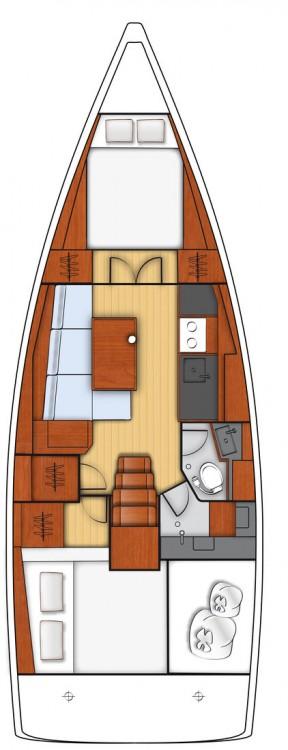 Boat rental Göcek cheap Oceanis 38.1 - 2 cab.