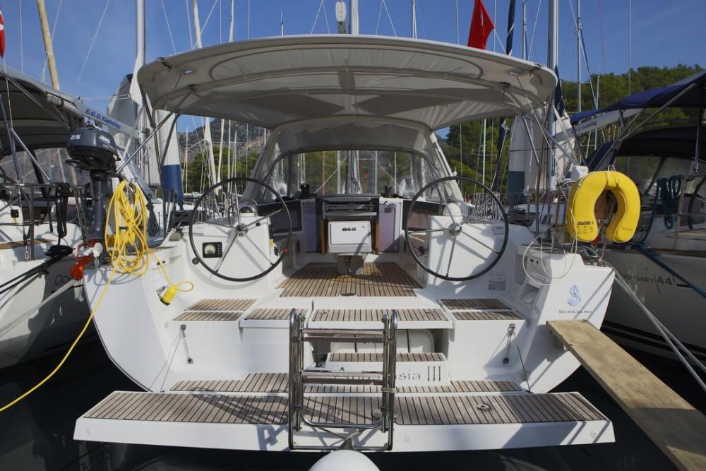 Boat rental Göcek cheap Oceanis 41