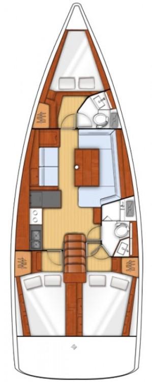 Boat rental Bénéteau Oceanis 41 in Göcek on Samboat