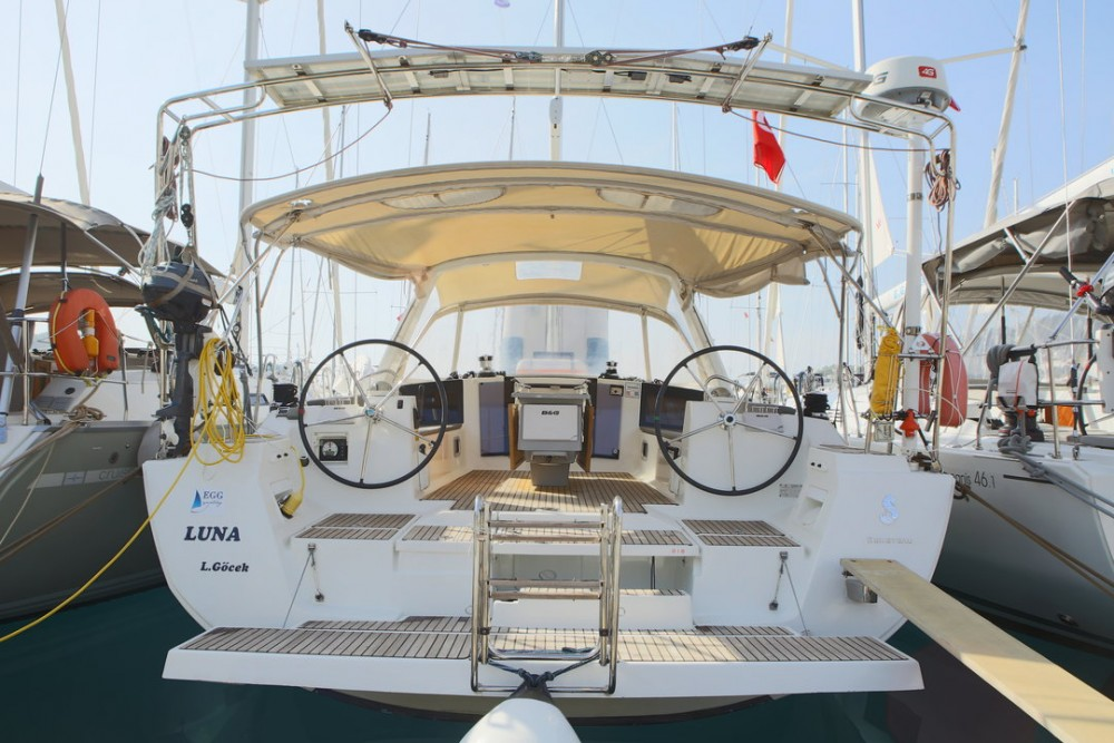 Hire Sailboat with or without skipper Bénéteau Göcek