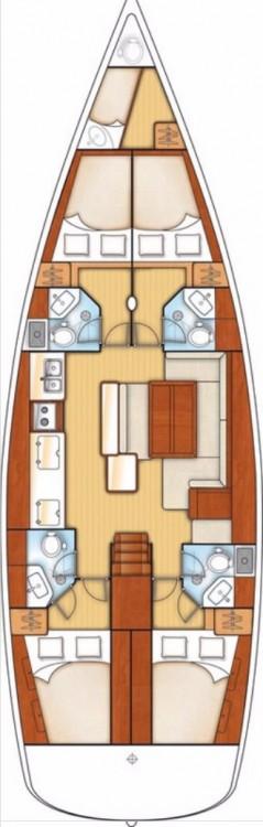 Boat rental Göcek cheap Oceanis 50 Family