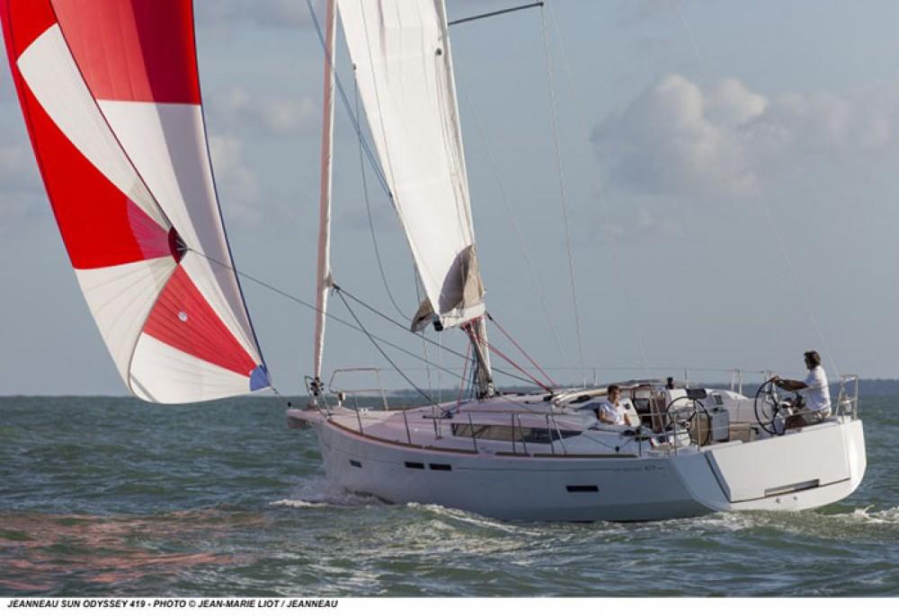 Rental Sailboat in Göcek - Jeanneau Sun Odyssey 419