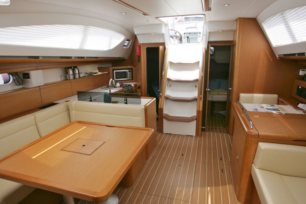 Jeanneau Sun Odyssey 50 DS between personal and professional Göcek