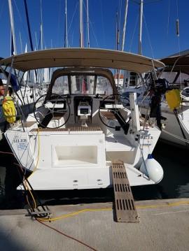 Boat rental Trogir cheap Dufour 360 Grand Large
