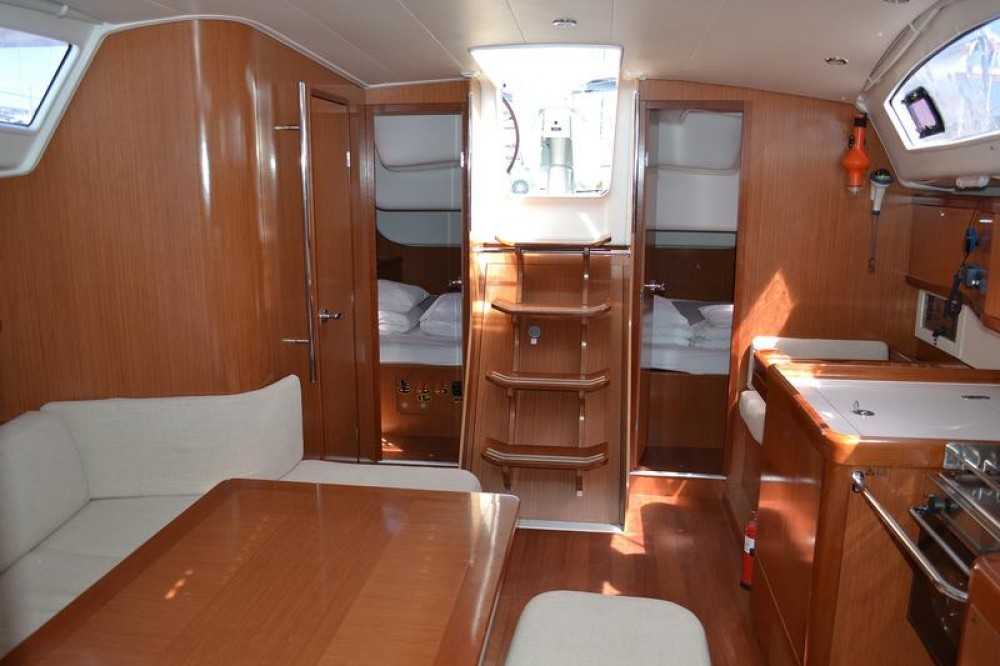 Boat rental Općina Sukošan cheap Oceanis 40