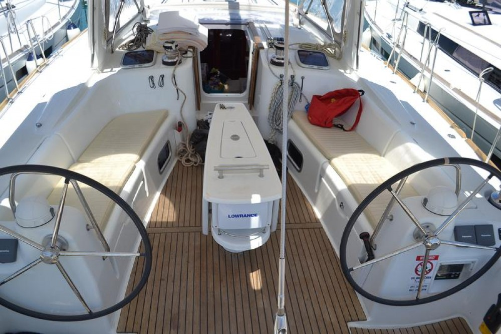 Boat rental Općina Sukošan cheap Oceanis 50 Family