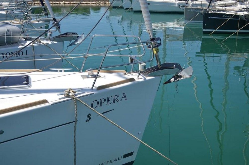 Rental Sailboat in Općina Sukošan - Bénéteau Oceanis 50 Family