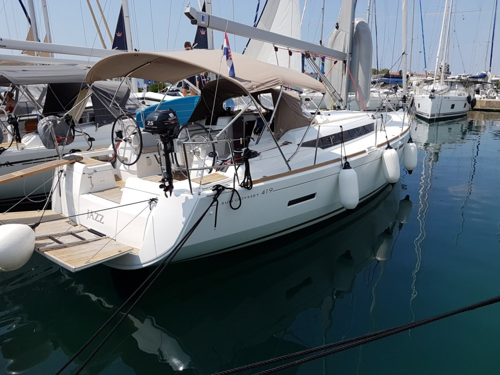 Jeanneau Sun Odyssey 419 between personal and professional Croatia