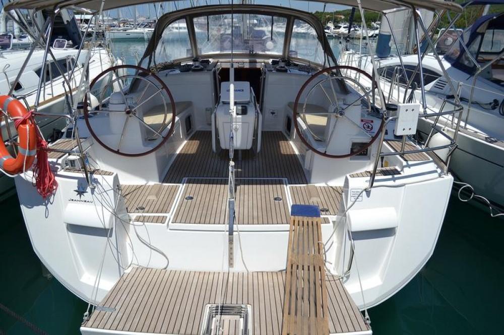 Boat rental Općina Sukošan cheap Sun Odyssey 509