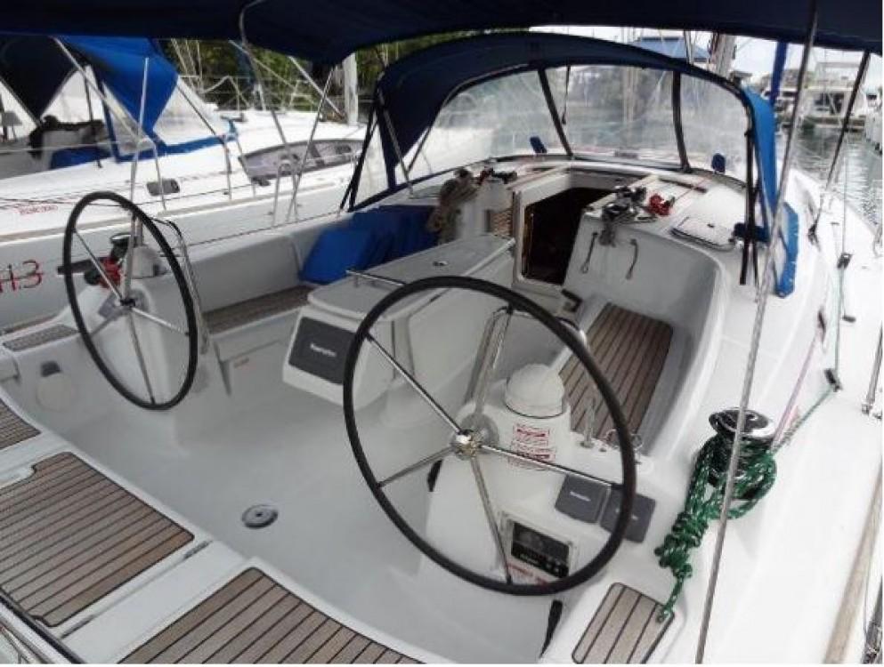 Boat rental Lefkada cheap Oceanis 40