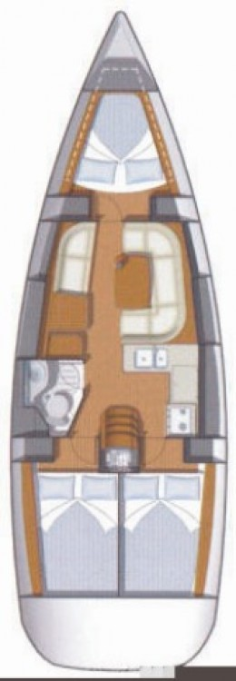Jeanneau Sun Odyssey 36i between personal and professional Lefkada