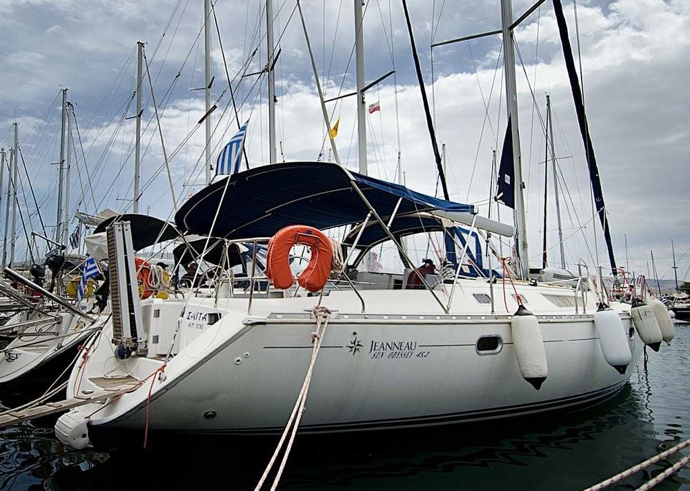 Boat rental Peloponnese cheap Sun Odyssey 45.2