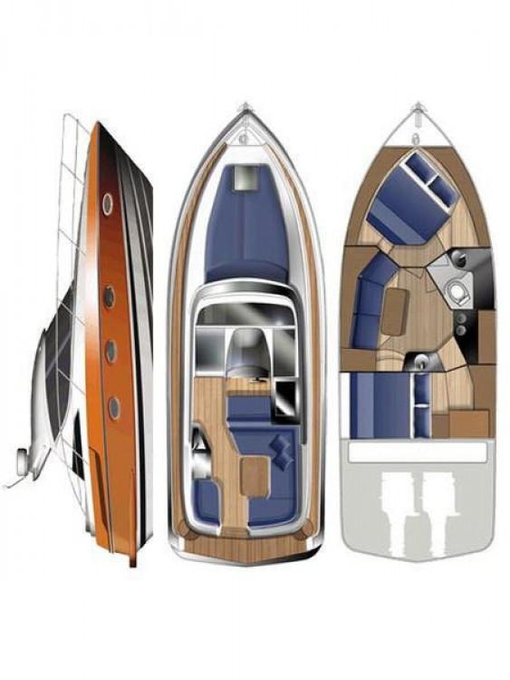 Rental yacht Grad Zadar - Focus Motor Yachts Focus Power 33 Hard Top on SamBoat