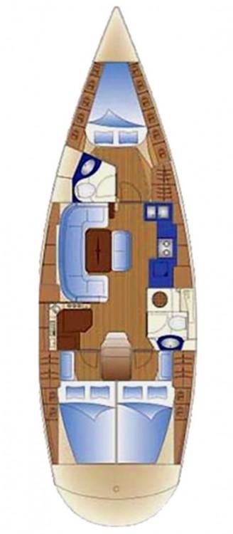 Rental yacht Primorsko-Goranska Županija - Bavaria Cruiser 42 on SamBoat