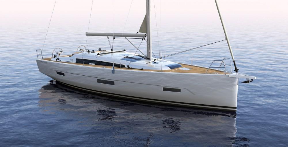 Rental yacht  - Dufour Dufour 430 GL on SamBoat
