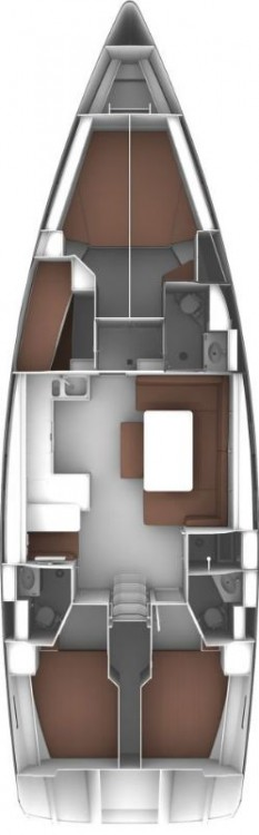 Boat rental Croatia cheap Cruiser 51