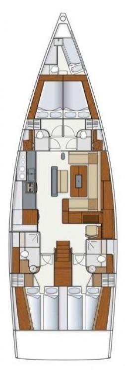 Rental yacht Croatia - Hanse Hanse 575 on SamBoat