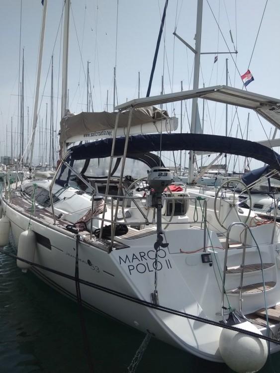 Boat rental Jeanneau Jeanneau 53 in Croatia on Samboat