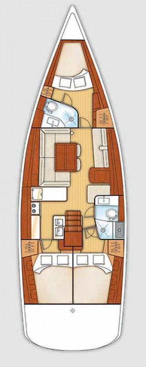 Boat rental Croatia cheap Oceanis 46 - 3 cab.