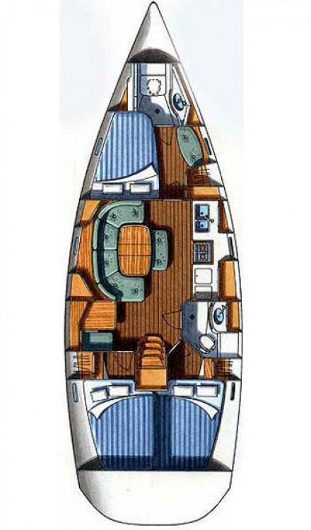 Rental Sailboat in Croatia - Bénéteau Oceanis