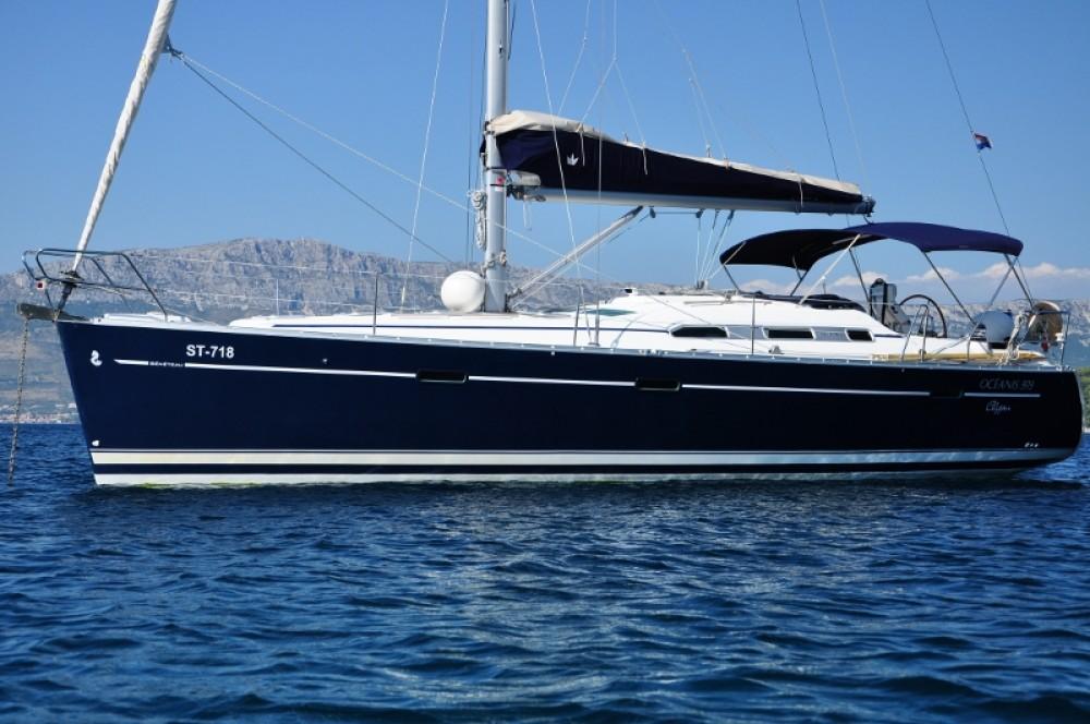 Boat rental Croatia cheap Oceanis