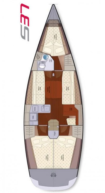 Rental yacht Marina Kaštela - Salona Salona 37 on SamBoat