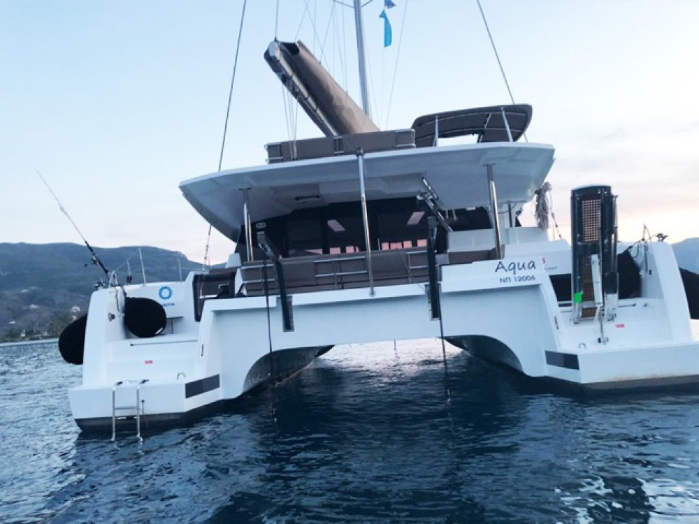 Rental Catamaran in  - Fountaine Pajot Saona 47