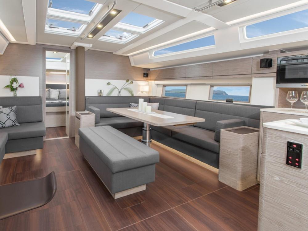 Rental yacht South Aegean - Hanse Hanse 588 - 4 + 1 cab. on SamBoat