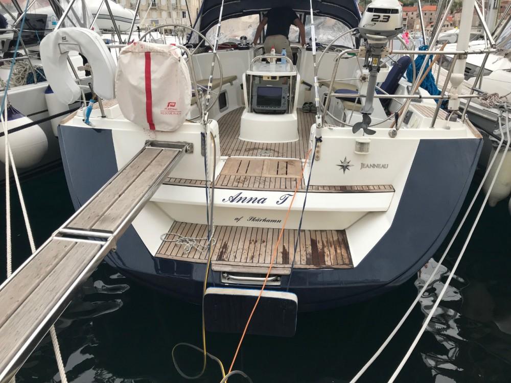 Rental Sailboat in Marina Kaštela - Jeanneau Sun Odyssey 49