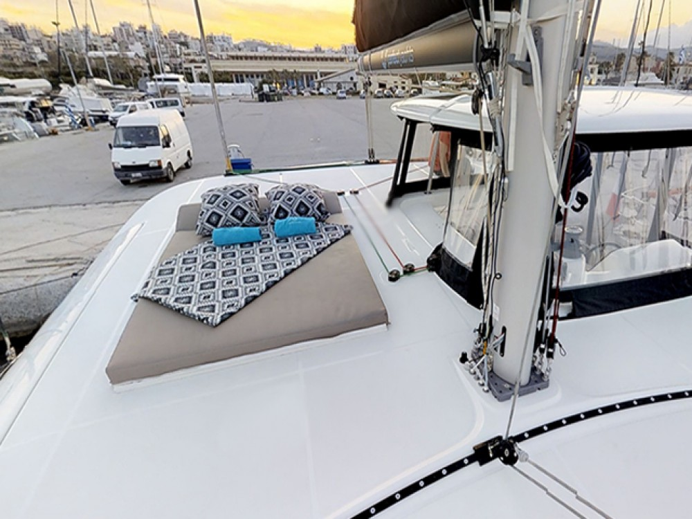 Catamaran for rent South Aegean at the best price