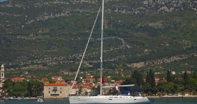 Rental Sailboat in Kaštela - Jeanneau Sun Odyssey 49