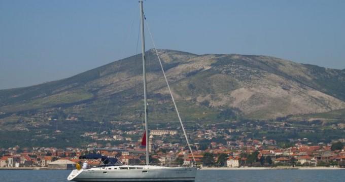 Boat rental Kaštela cheap Sun Odyssey 49
