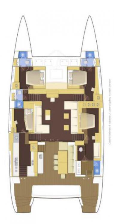 Boat rental Peloponnese cheap Lagoon 620