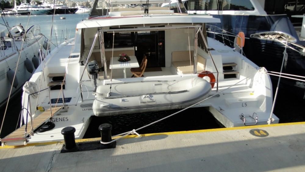 Rental Catamaran in Phuket - Catana Bali 4.5