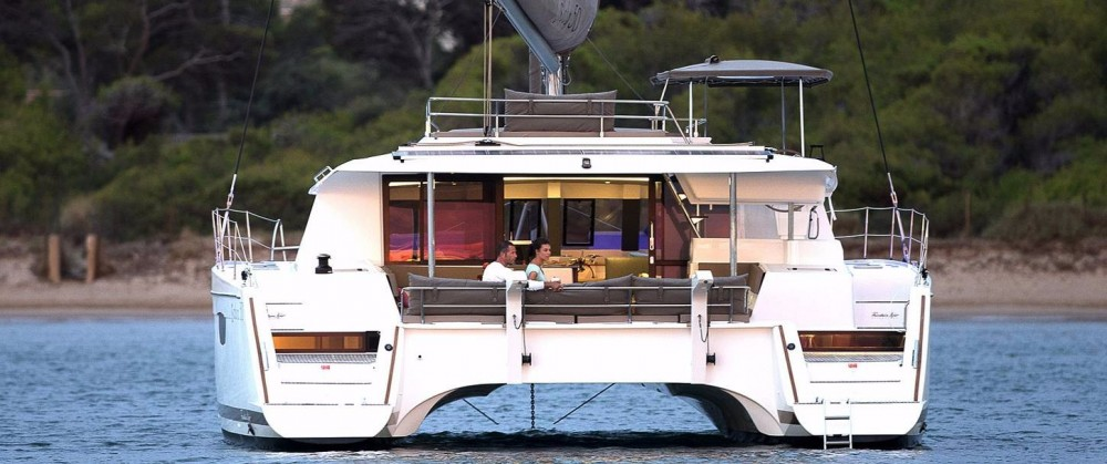 Fountaine Pajot Saba 50 between personal and professional Phuket