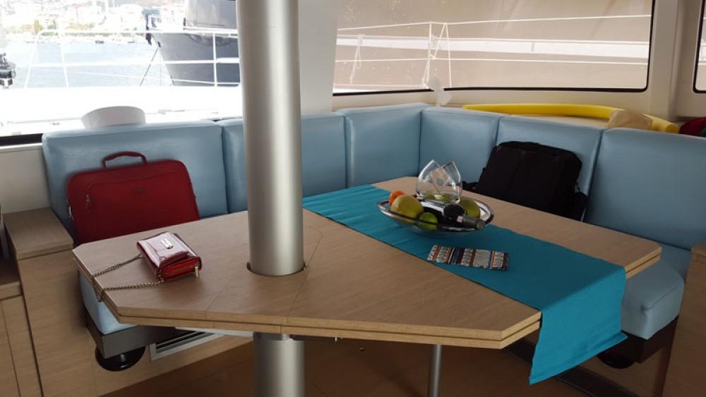 Rental Catamaran Catana with a permit