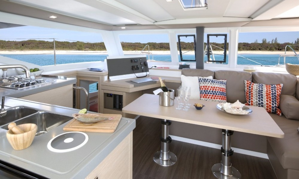 Fountaine Pajot Lucia 40 between personal and professional New Providence
