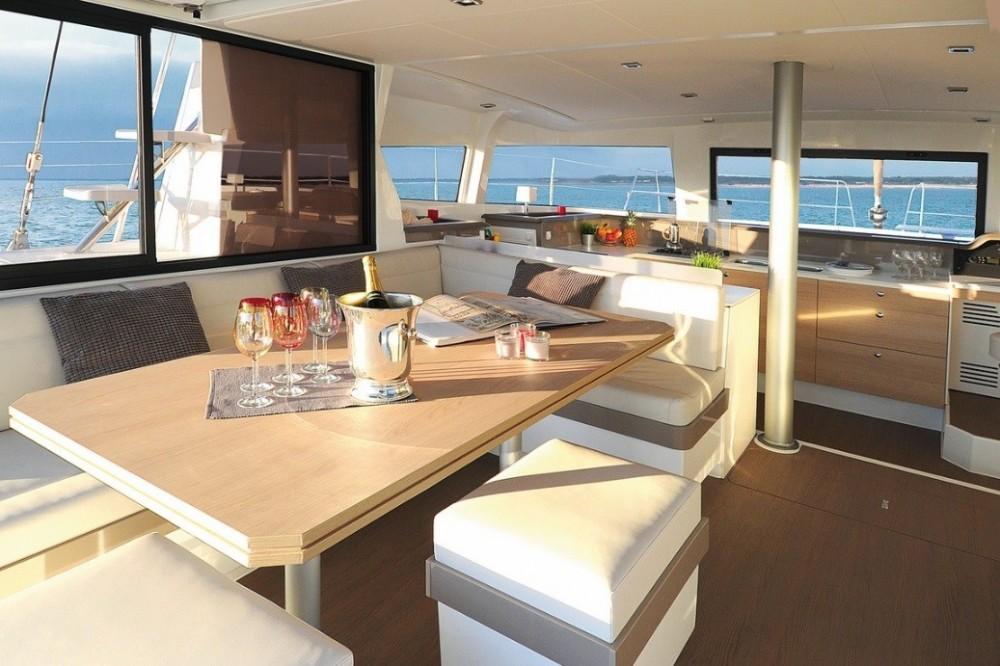 Rental Catamaran in Jolly Harbour - Catana Bali 4.3 Owner Version