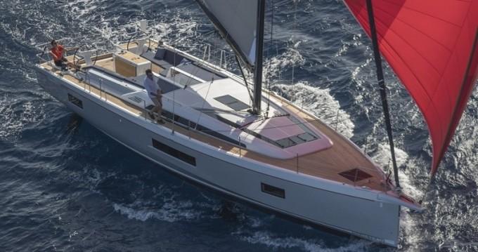 Boat rental Antigua cheap Oceanis 51.1