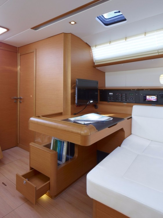 Rental yacht Jolly Harbour - Jeanneau Sun Odyssey 519 on SamBoat