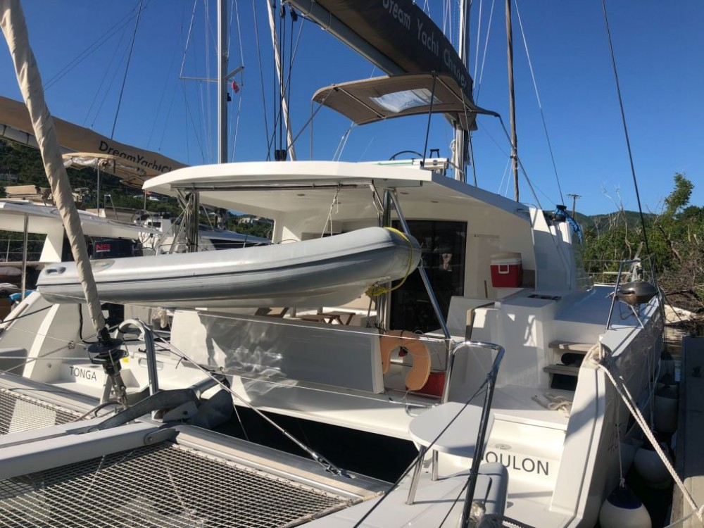 Hire Catamaran with or without skipper Catana Jolly Harbour