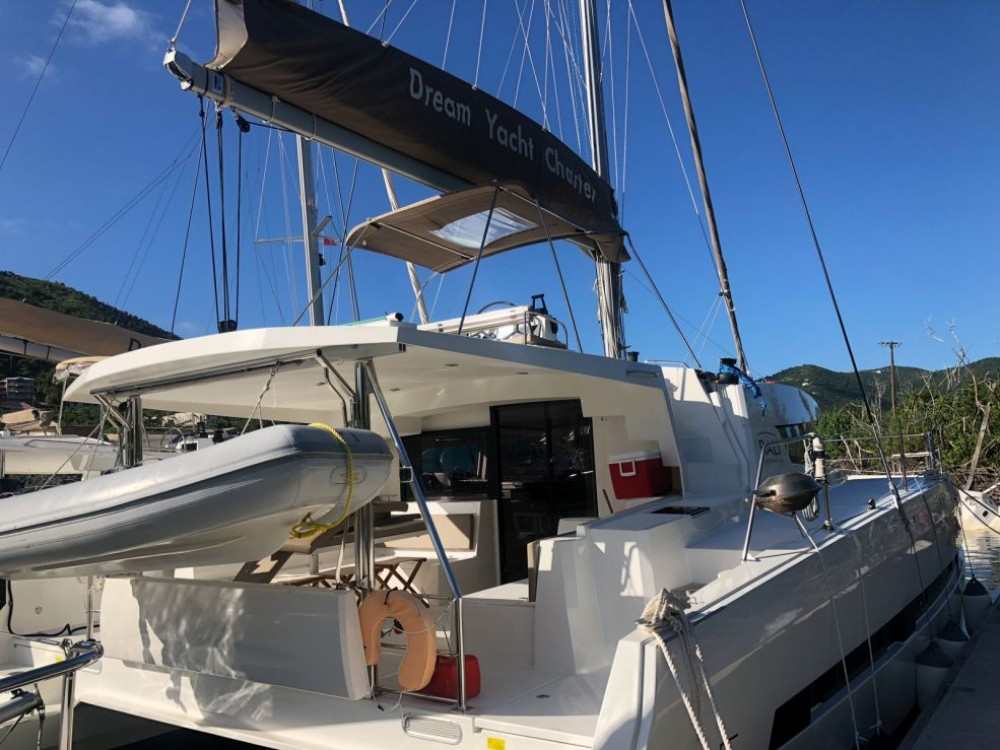 Catana Bali 4.5 between personal and professional Jolly Harbour