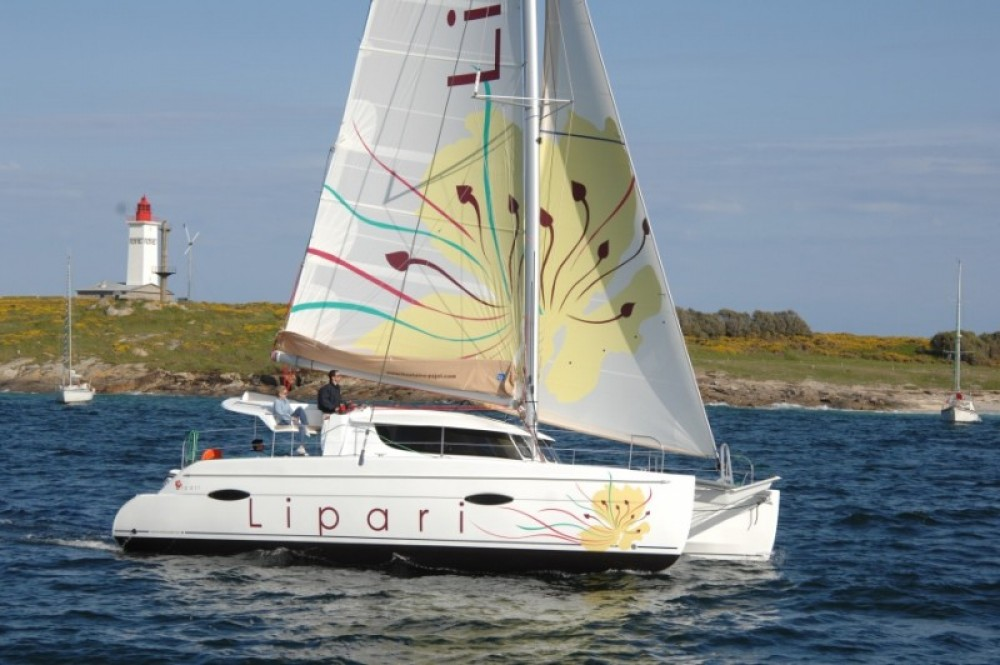 Fountaine Pajot Lipari 41 between personal and professional Stann Creek