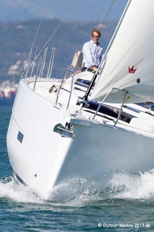 Boat rental Road Town cheap Dufour 430