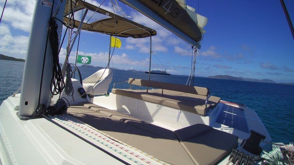 Catana Bali 4.3 Owner Version between personal and professional Road Town