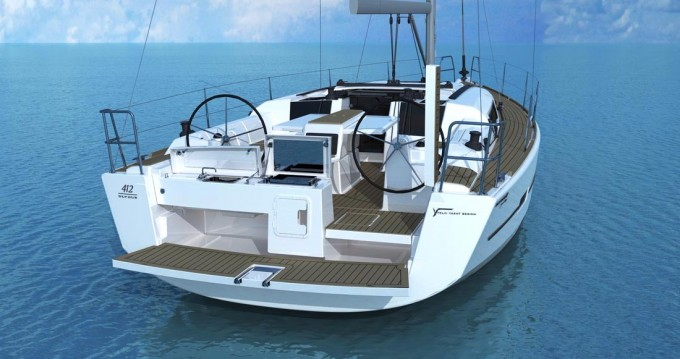 Boat rental Tortola cheap Dufour 412 Grand Large