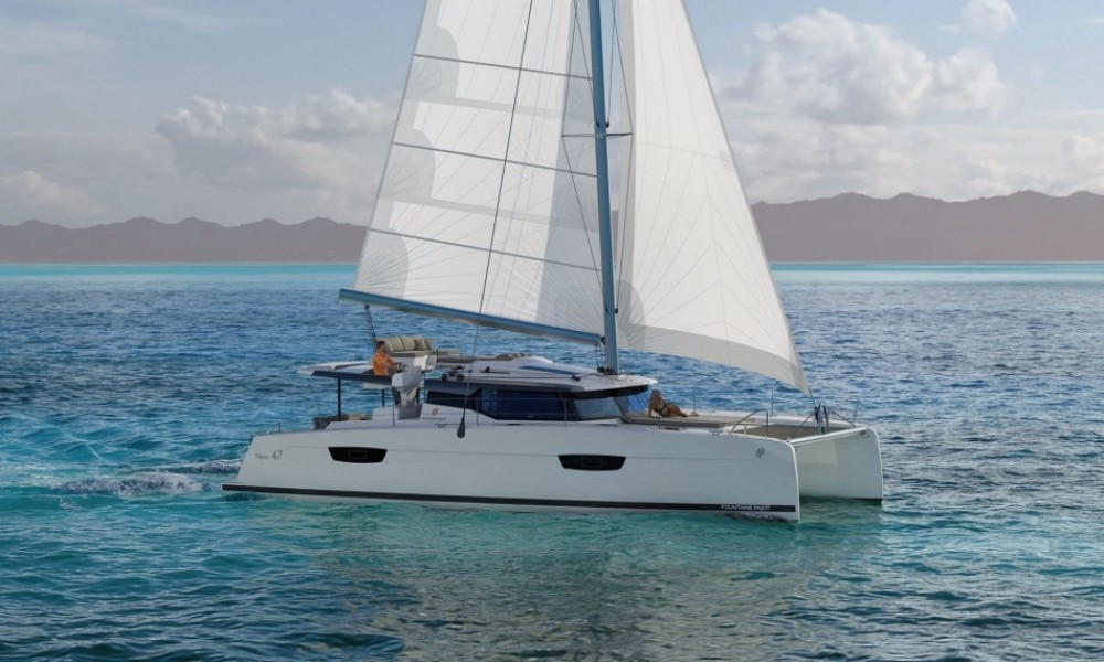 Fountaine Pajot Saona 47 between personal and professional Saint-Georges