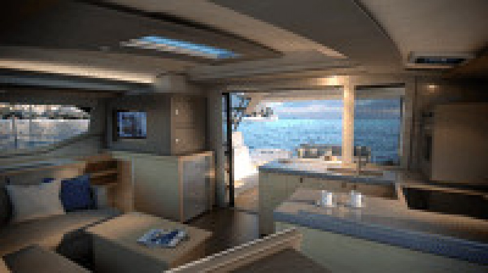 Fountaine Pajot Astrea 42 between personal and professional Saint-Georges