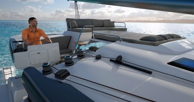 Fountaine Pajot Saona 47 between personal and professional Grenada Free Port
