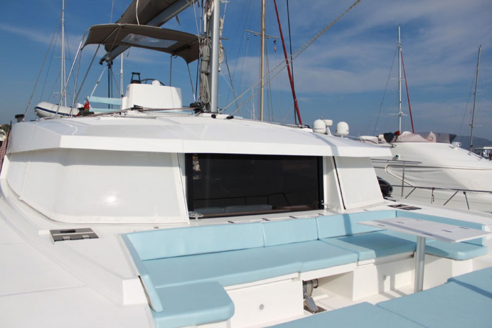 Catana Bali 4.5 between personal and professional Pointe-à-Pitre